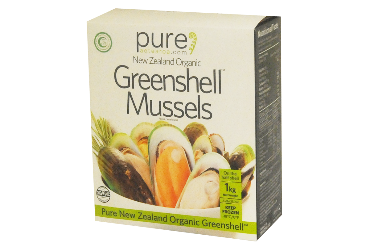 Organic NZ Green Lip Mussels